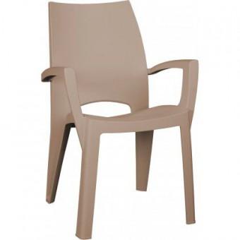 0b207f42f96e Zahradní plastové jídelní židle - barevné i bílé